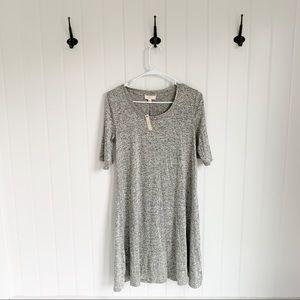 NWT Cupio Gray Swing Dress